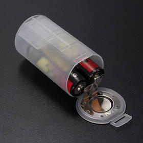 2 АА до D Размер батареи держатель случае преобразование адаптер коммутатор