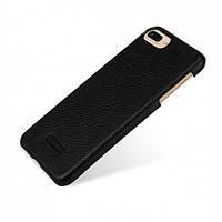 "Кожаная накладка TETDED для Apple iPhone 7 plus / 8 plus (5.5"") Черный / Black"