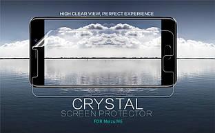 Защитная пленка Nillkin Crystal для Meizu M6 Анти-отпечатки