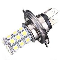 H4 9003 5050 27-smd LED лампочка тумана ДХО дальнего света ксенон