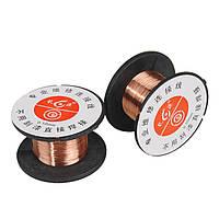 2шт 0.1 мм медь сварки пайки припоя ppa эмалированные провода катушки