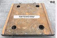 Плита СМД-111 распорная  передняя  3440.00.008 (3442.00.002)
