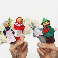 Красная Шапочка палец куклы мешок партии узнать историю игрушки