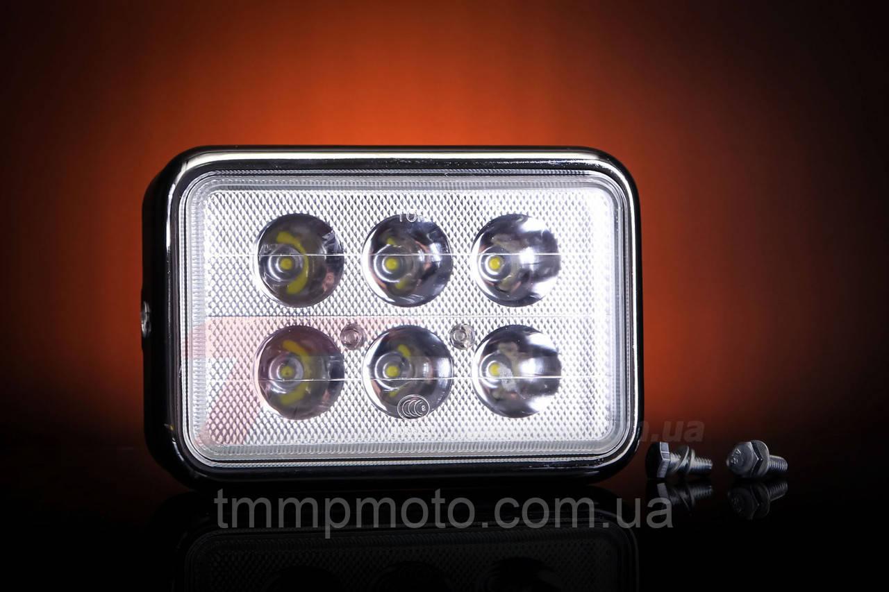 Фара квадратна LED ( світлодіоди ) 18W спопеляючий світло !!!