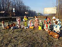 Рождественский вертеп (13 фигур, H-90см) , фото 1