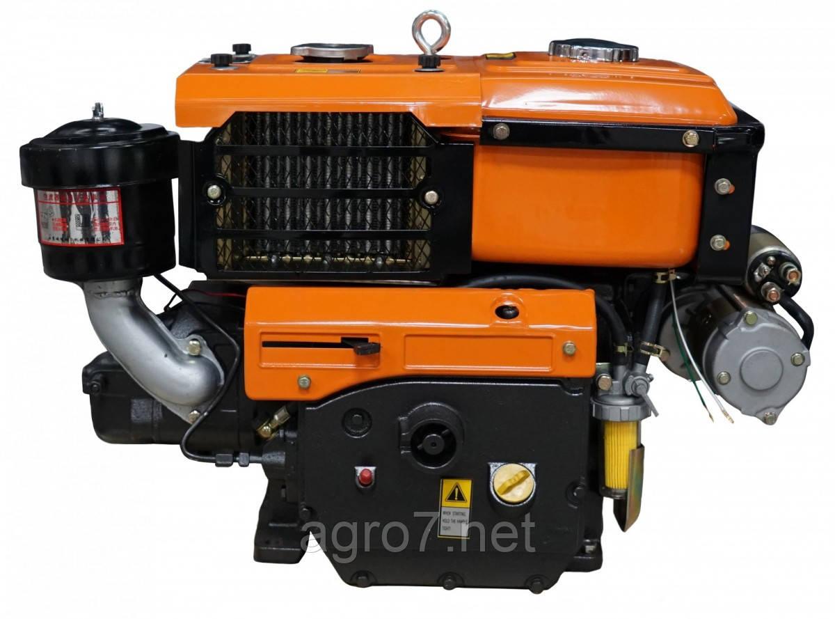 Двигатель Файтер R195ANE 13л.с. электростартер