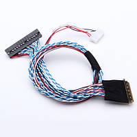 40-контактный 2 канал 6 бит LED ЖК-экран интерфейс lvds кабель
