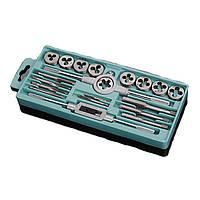 20 штук m3-m12 метрический водопроводный ключ сигналов штепселей нити винта умирают набор рывка