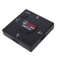 3 Port HD Switch Switcher Splitter для PS3 PS4 Xbox 360 Game