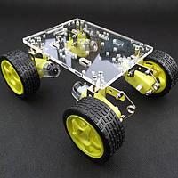 Шасси Smart Robot Акриловое шасси с подвесной системой предотвращения препятствий Авто DIY Набор - 1TopShop