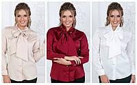 Блуза шелковое батальная р. 50-54