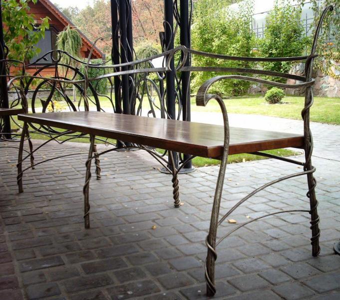 Кованая мебель 7
