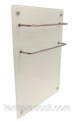 Стеклянный полотенцесушитель Hglass Basic GHT 6060 W