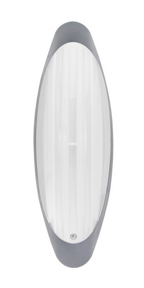 Светильник потолочный ERKA 1205 матовый/серебро