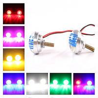 7 цвет мотоцикла LED управляя хвост свет украшение
