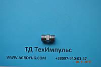 Штуцер соединительный S17*S17, фото 1