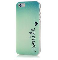 Чехол -накладка для iPhone 5\5S Силикон c рисунком в ассортименте