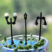 Микро-ландшафтных украшений мини уличного фонаря сад ландшафтный дизайн