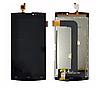 Оригинальный дисплей (модуль) + тачскрин (сенсор) для Leagoo Lead 7 (черный цвет)