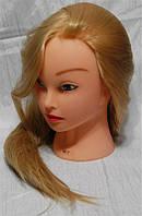 Голова учебная (иск. термо. волосы) MT24