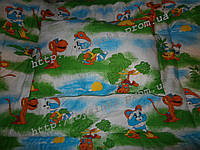 """Одеяло и подушка для новорожденных в кроватку- """"Крошка Енот"""""""