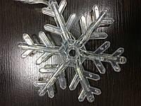 Гирлянда  снежинка светодиодная led