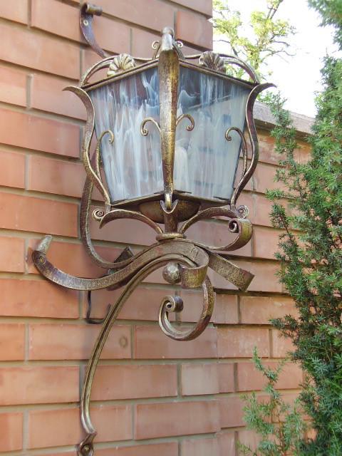 Кованые фонари, светильники, люстры