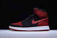 Кроссовки Nike Air Jordan 1 Retro Banned найк аир джордан 555088-001