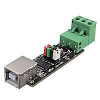 Geekcreit® USB К RS485 Переходник последовательного преобразователя TTL Интерфейс FTDI FT232RL 75176