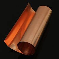 99.9%-й чистый медный металл покрывает пластину фольги 0.1 x 200 x 1000 мм