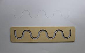 """Розвиваюча лінійка за методикою Монтессорі """"Хвиля"""""""