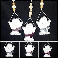 Оригинальная игрушка на елку - декор с тонированием, ручная работа, выс. 25 см., 35/30 (цена за 1 шт. + 5 гр.)