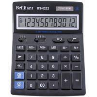 Калькулятор Brilliant BS-0222 настол.12-разр,2 пам.140*176