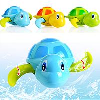 Ванна детская черепашка игрушки мультфильм плавательный цепь часы подарки