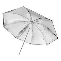 FOTGA 33 дюймов 83 см фотостудия Flash Reflector Black Sliver Umbrella