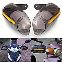 Универсальный мотоцикл руль рисунком протекторов стороны охранников