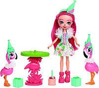 Кукла Enchantimals Фенси Праздник фламинго с фламинго, фото 1