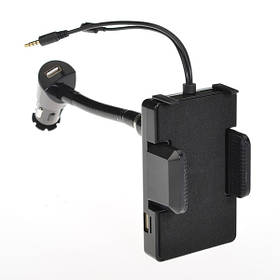 Черные руки свободными автомобильный комплект мини ЖК-FM передатчик для iPhone 6/плюс - 1TopShop