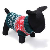 Собаки любимчика трикотажные дышащая теплый свитер зимние пальто и пиджаки