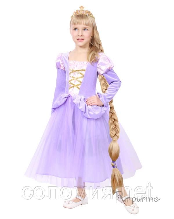 Детский костюм для девочки Рапунцель