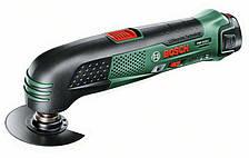 Многофункциональный инструмент аккумуляторный Bosch PMF 10,8 LI (2 А/ч, 20000 ход/мин)