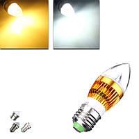 E27 E14 B22 E12 4.5W LED лампа 85-265V