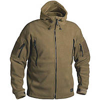 Флисовая кофта с капюшоном Helikon-Tex Patriot Heavy Fleece Jacket-Coyote L, XL, XXL/regular (BL-PAT-HF-11)