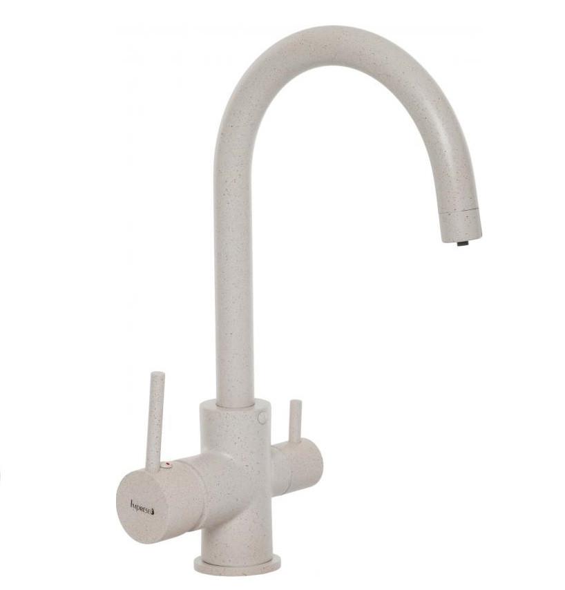 Cмеситель для кухни Imprese DAICY-U с подключением питьевой воды, (песок)