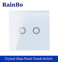 Сенсорный выключатель двойной Rain BO