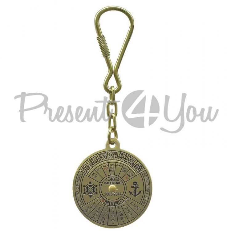 Морской сувенир брелок Вечный календарь Sea Club (1020.V)