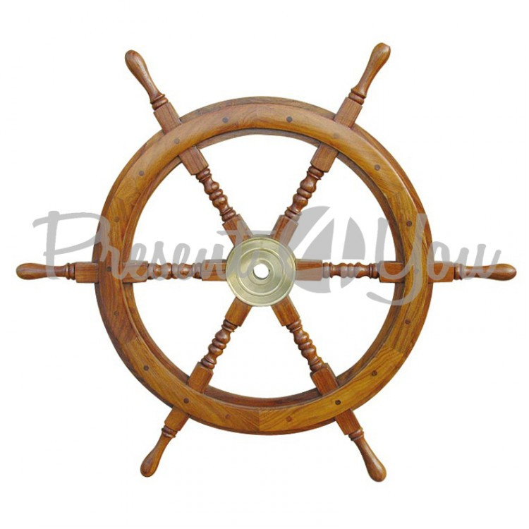 Морской сувенир штурвал, d-75 см.,1184 Sea Club (1184.V)