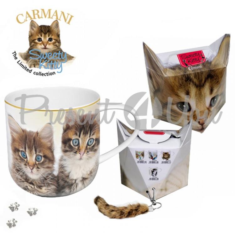 Кружка «Котята» Carmani, 500 мл (017-0021)