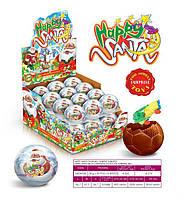 Шоколадный шар Happy Santa 30 гр. 24 шт Anl