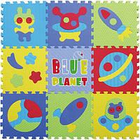 """Детский игровой коврик-пазл """"Космическое пространство"""" GB-M1703 Baby Great"""